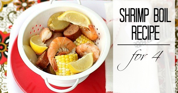 Shrimp Boil Recipe for 4