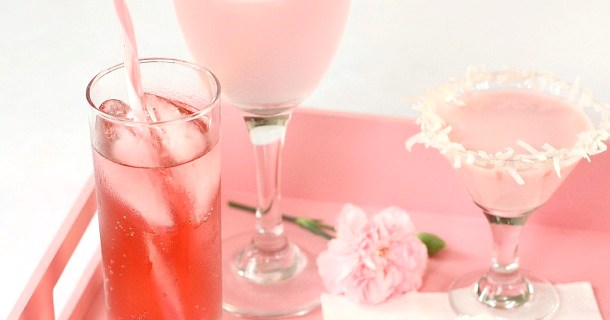 3 Pink Drink Recipes