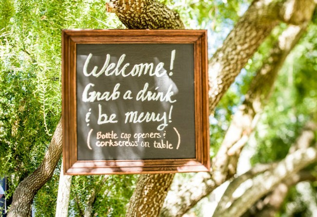 backyard wedding by Dawn Heumann Photography