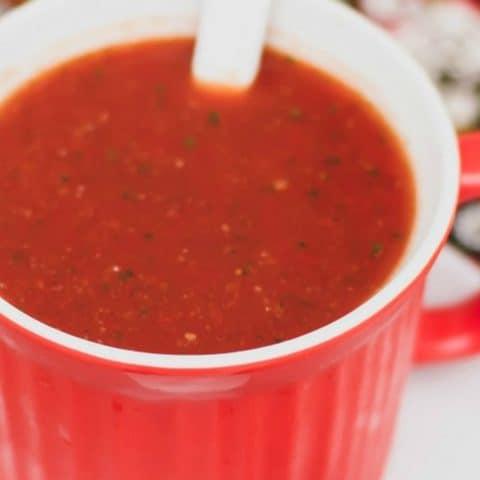 gazpacho recipe card