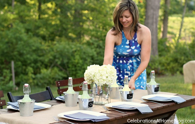 host a casual cookout