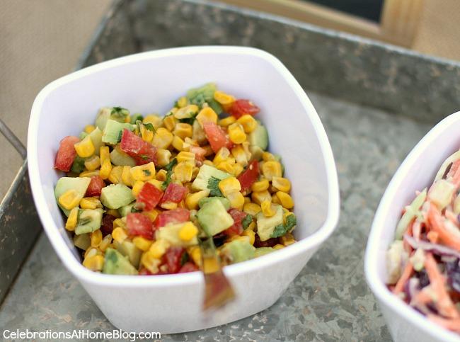 roasted corn and avocado relish recipe