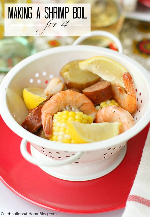 how to make a shrimp boil for 4