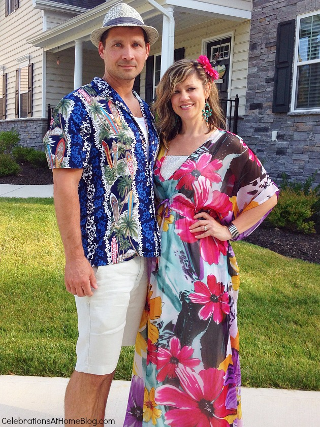 luau party fashion
