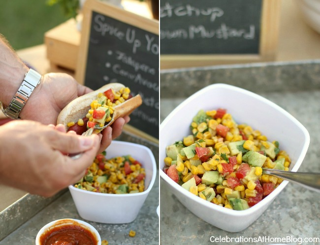 roasted corn and avocado relish recipe