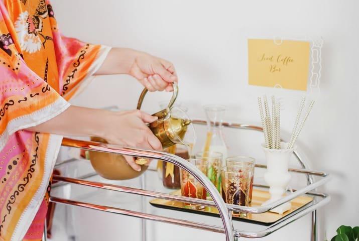 hostess bar cart