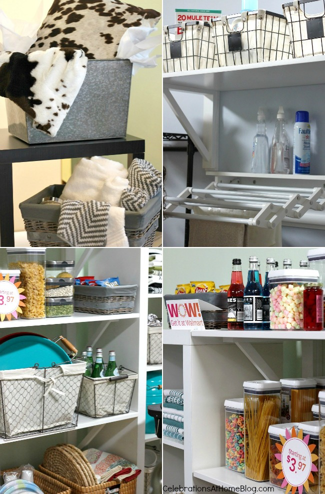 storage solutions for the pantry and laundry room