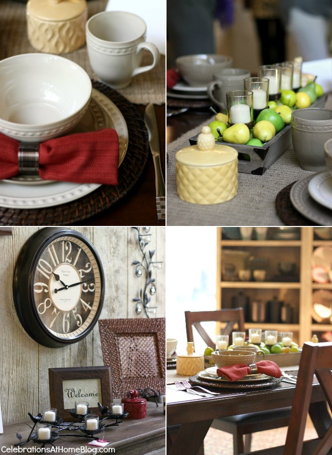 ideas for dining room styling & entertaining