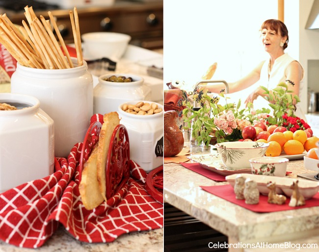 ideas for easy entertaining with BHG food and entertaining editor