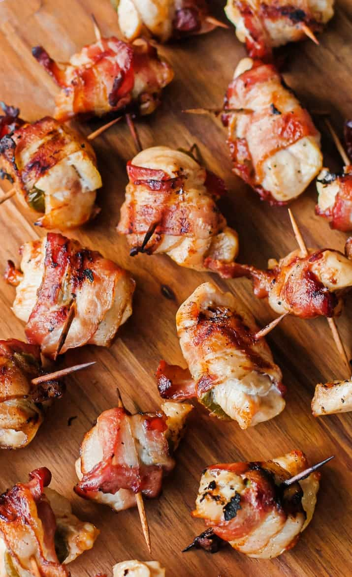 bacon chicken appetizers