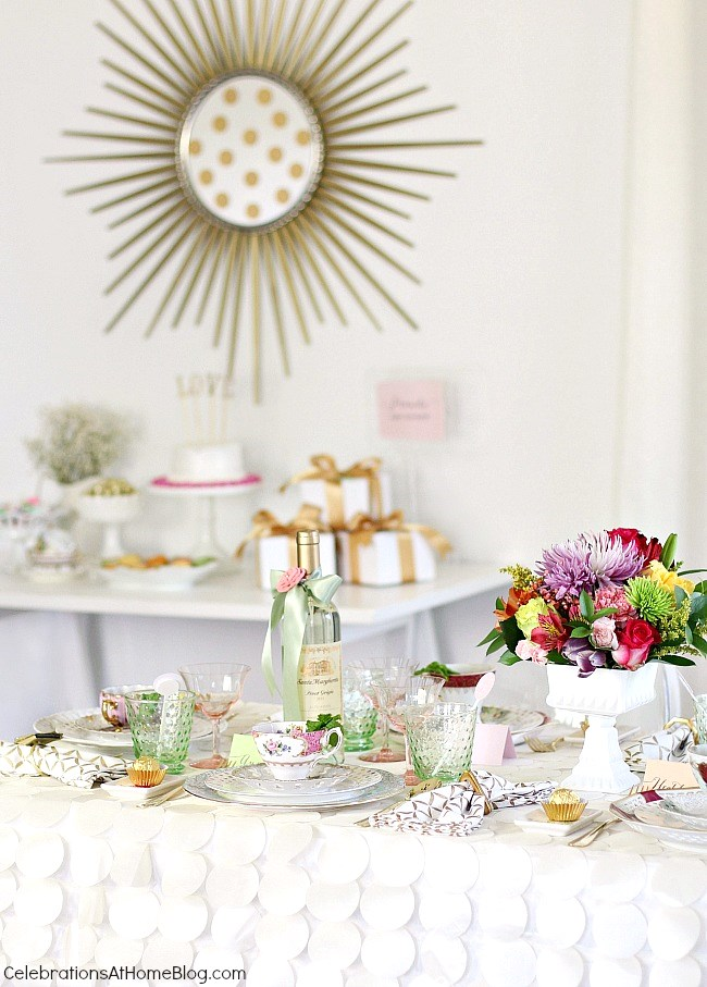 Bridesmaid Luncheon with Menu Recipes & Mod Meets Vintage style ...