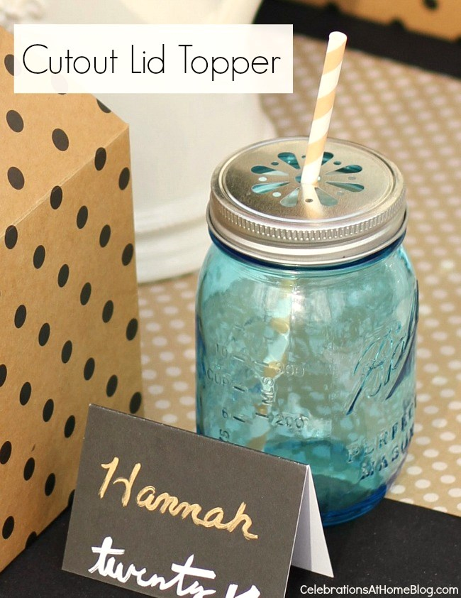 4 ways to keep those pesky bugs out of your summer drinks - cutout lid topper