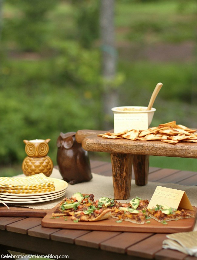 Enjoy appetizers & sangria al fresco. Entertaining is easy with these tips and ideas.