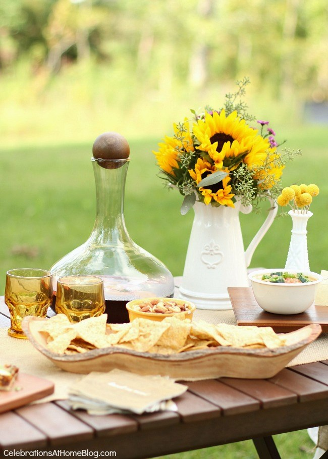 Appetizers Amp Sangria Al Fresco Celebrations At Home
