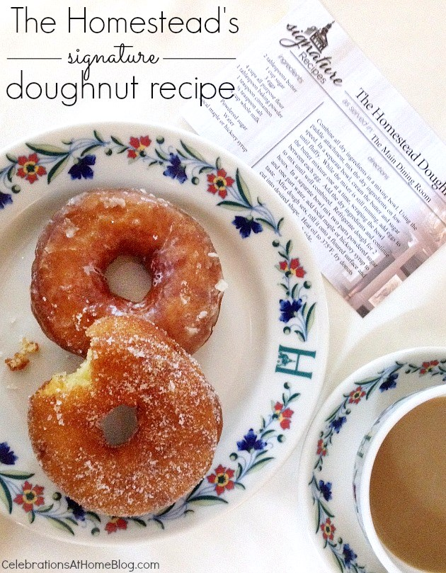 homemade doughnuts recipe