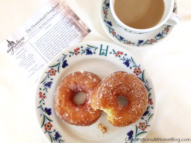 homemade doughnuts