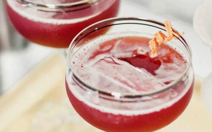 Pomegranate Cocktail Hula Breeze