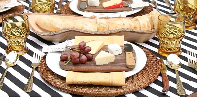 Welcome Fall with a Dinner Party Alfresco Tablescape