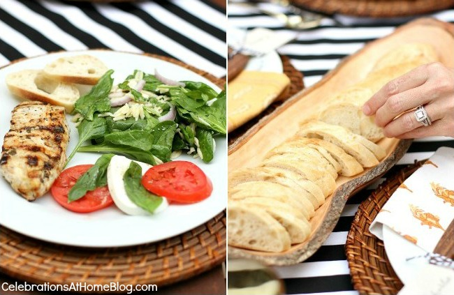 Transitional Dinner Party - Summer into Fall / Celebrations At Home blog