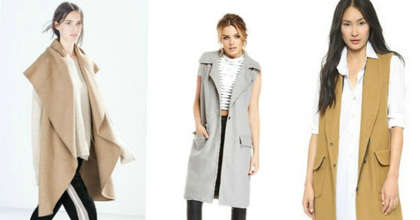 What to Wear :: Sleeveless Coats