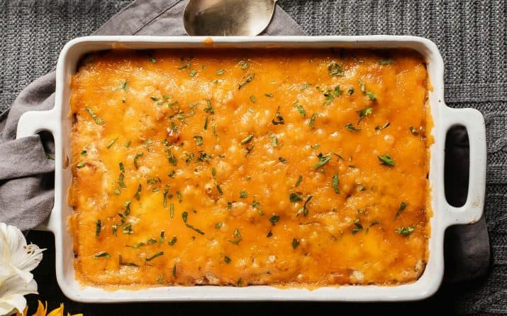 Easy Cheeseburger Bake Casserole with Bisquick
