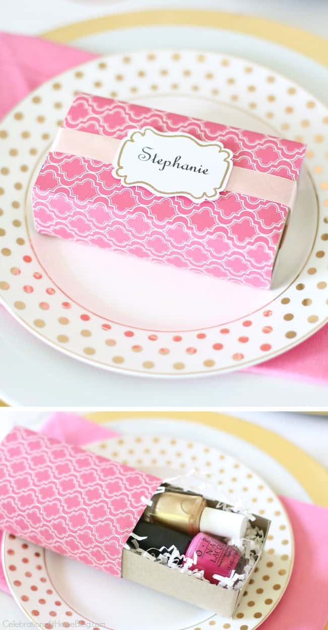 You'll love these Pink Party Ideas for a pink bridal shower, a pink birthday celebration, or breast cancer awareness month. These pink party favors are perfect for your guests.