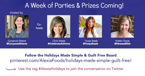Join Me for Some Prize-Packed Holiday Parties