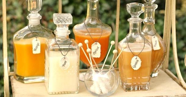 "DIY :: Make Your Own Bottle Label ""Necklaces"""