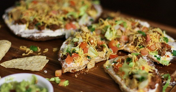 Mexican Pizza with a Twist!