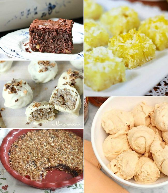5 dessert recipes
