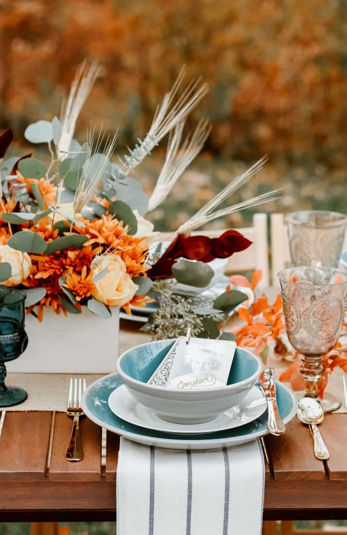 beautiful fall tablescape ideas