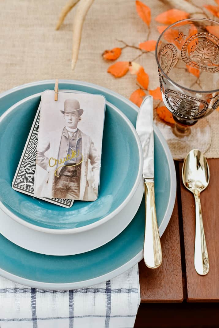 fall table setting ideas