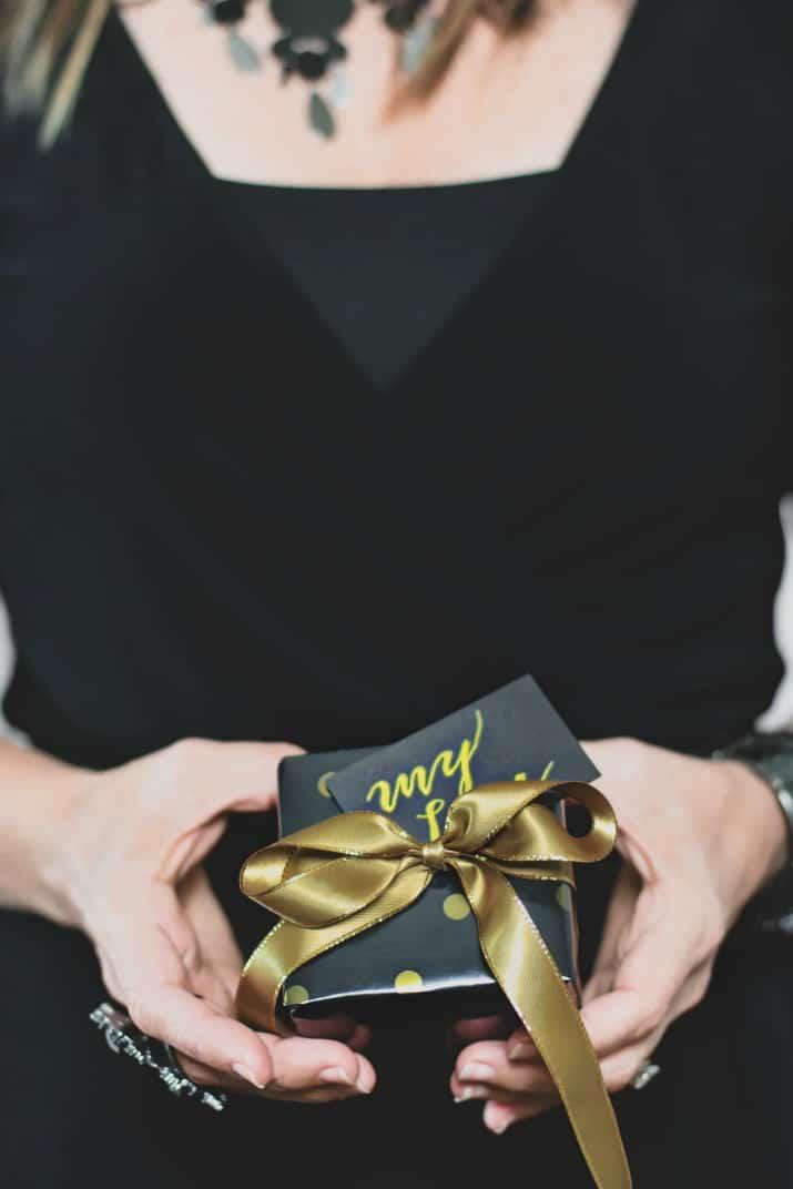 small anniversary gift box