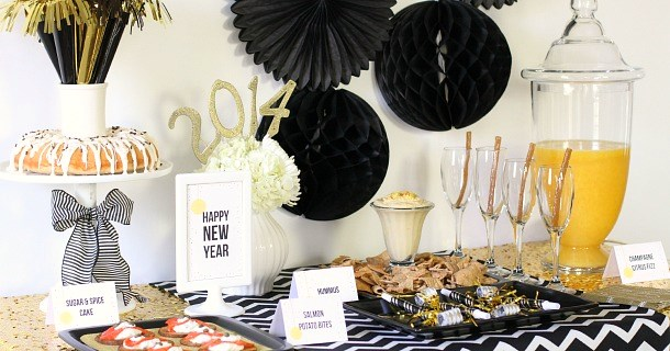 Entertaining : Host a New Years Eve Party