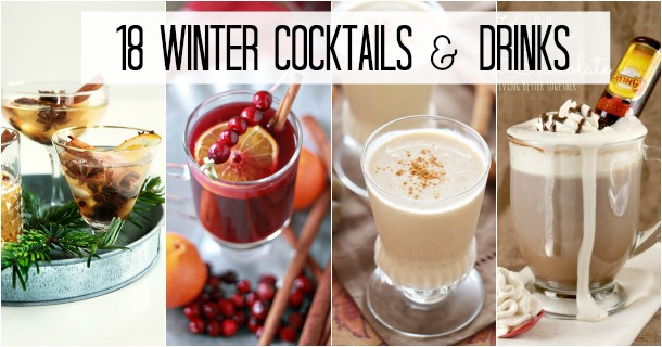 18 Winter Cocktails & Drinks
