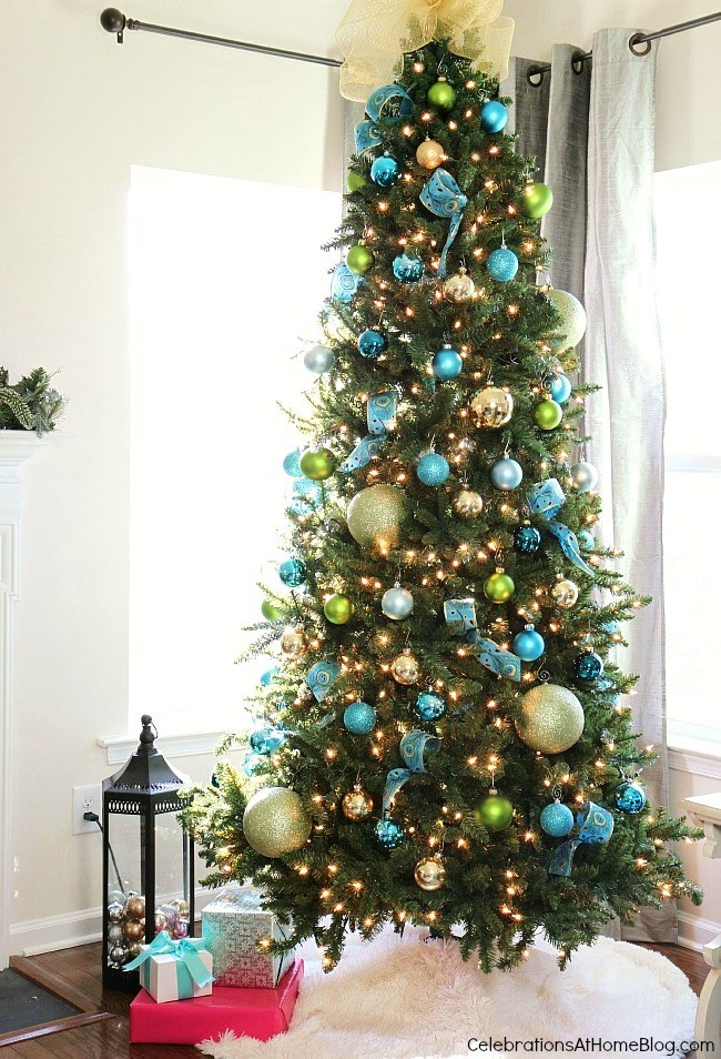 Christmas in the house _ Christmas tree