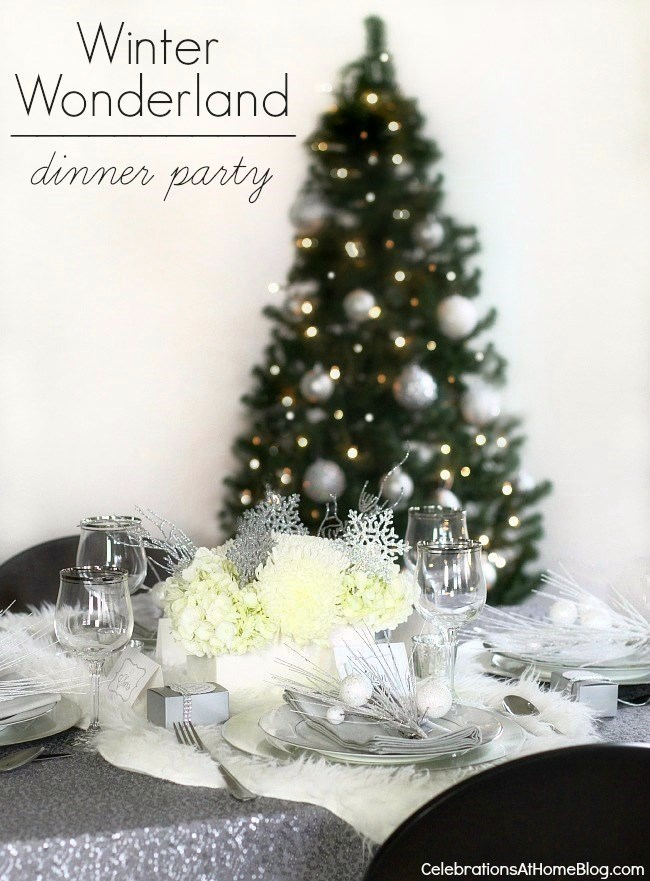 Winter Wonderland Holiday Party Ideas