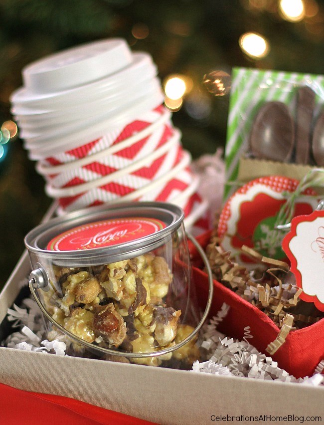 Gift box ideas for the holiday. Filling a gift box, tips and tricks.