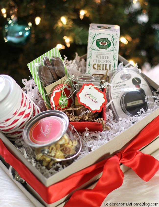 Gift Box Ideas: tips for filling! - Celebrations at Home