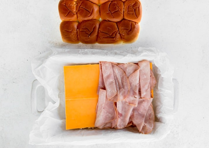 how to make mini party sandwiches