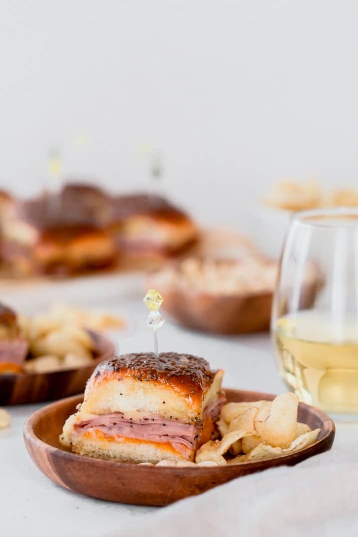 easy baked party sliders