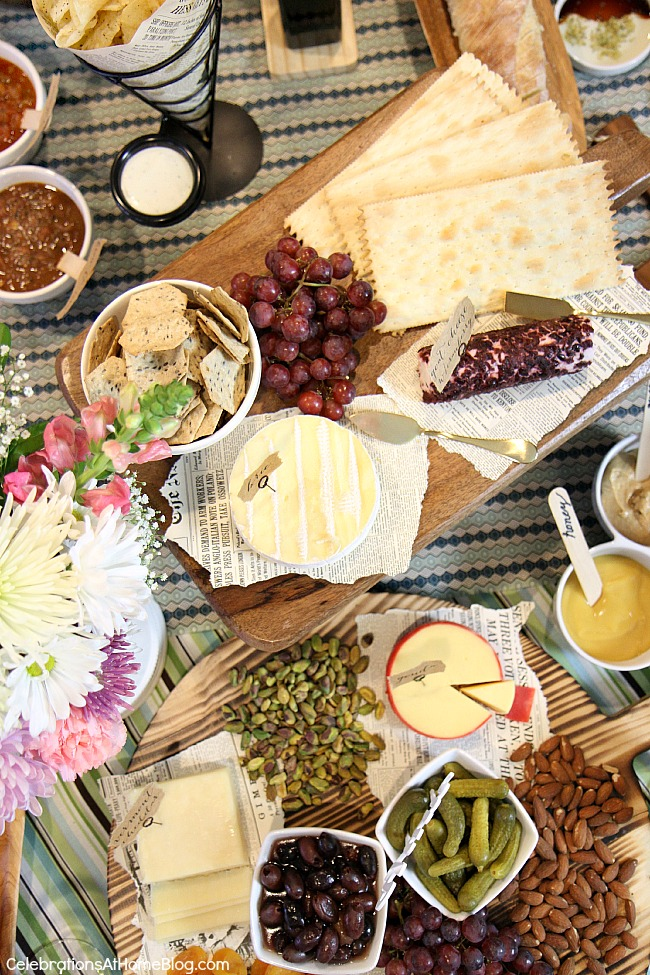 wine and food tasting party