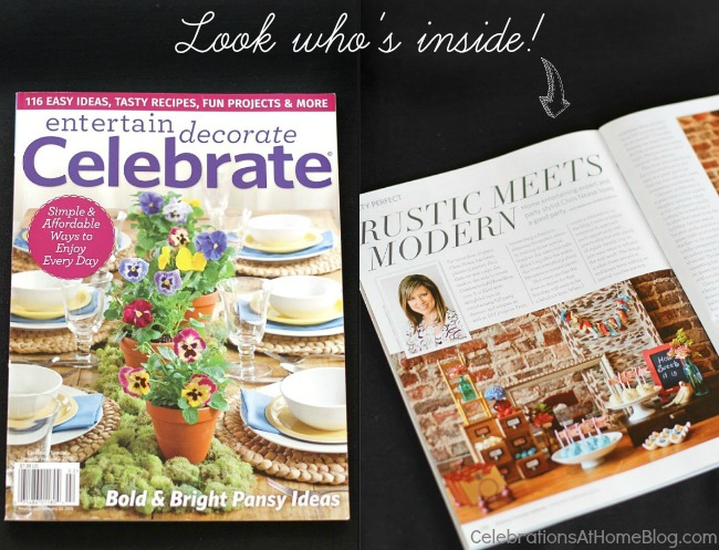 in Celebrate magazine