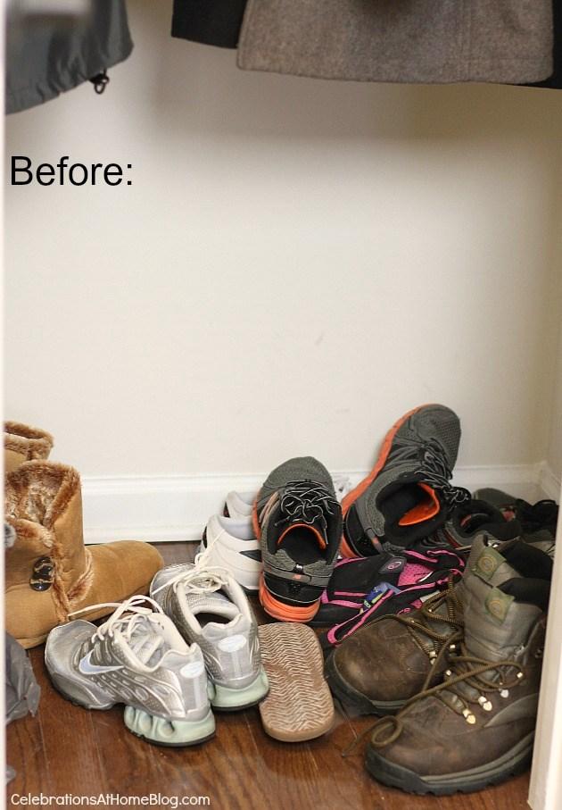 organizing our coat closet