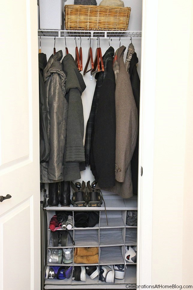 Organizing Our Coat Closet Your