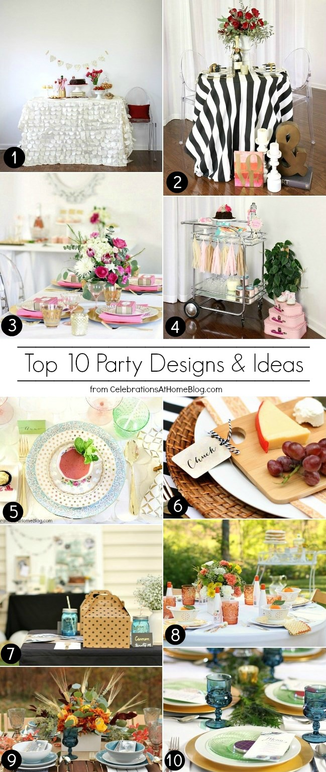 My 10 Favorite Party Ideas & Themes - Celebrations at Home