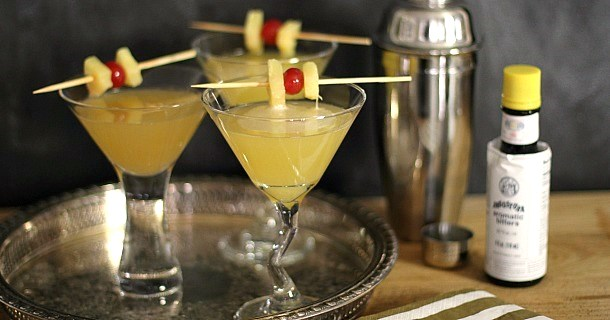"""Gin-Ginger """"Zing"""" Cocktail"""