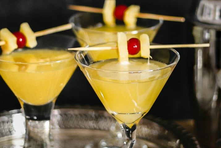 gin and ginger liqueur martini recipe
