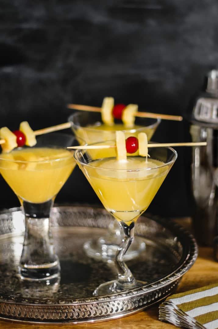 gin & ginger liqueur cocktails