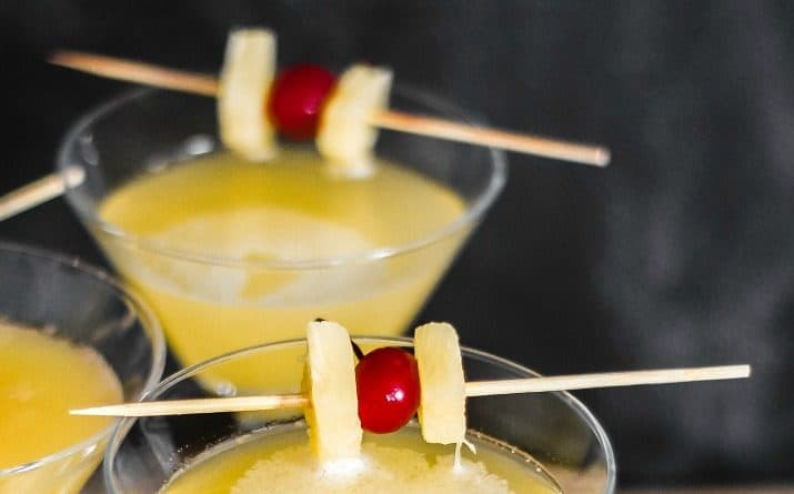 Gin and Ginger Liqueur Cocktail Martini recipe